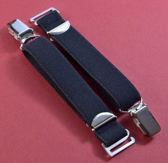 bandes de 2 sangles 20 mm de large avec bretelles clip le crochet en noir