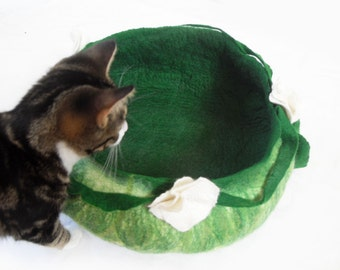 Cat Bed House Basket