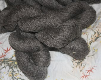 Romney/Cotswold natural wool yarn 200 yards/ 1 skein