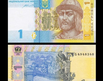 Banknotes from Ukraine - Gorgeous Colours! -  Altered Books, ATCs, Collage, Mixed Media, Travel Theme Art