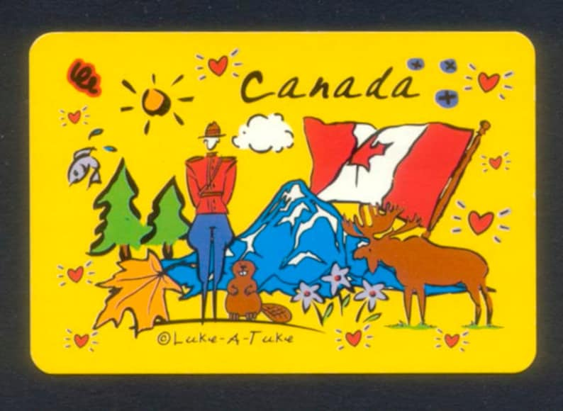 Oh Canada Playing Cards / Add to Your Collection / Use in image 0