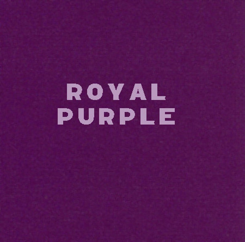 Transfer Foil  Royal Purple  Simple and Easy to Use image 0