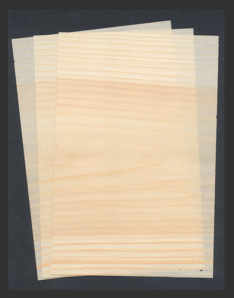 Wood Paper / Ultra Thin Wooden Kyougi Sheets from Japan / image 0