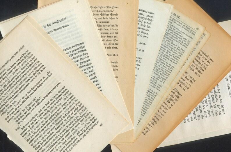 Vintage Text Package / Old Gothic Style German Font / Fraktur image 1