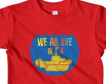 bf25f309 Submarine shirt | Etsy