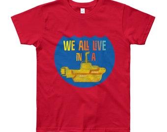 Yellow Submarine Big Kids T-Shirt