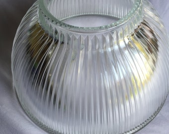 Glass lamp shade etsy 1930s vintage glass lamp shade mozeypictures Images