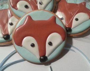Baby Fox Cookies