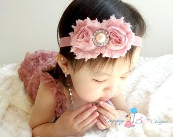 25a551e59aad Ivory Rose Satin headbandMTM Baby Ivory Rose lace Romperbaby