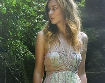 "Handmade (Wedding-) Dress ""Flora No. 2"""", ROHMY Gold Label /// Floor-length Evening Gown /// Eden Collection"