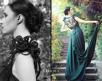 """Handmade (Wedding-) Dress """"Dragonfly No. 2"""", ROHMY Gold Label /// Bridal Gown /// Evening Gown /// Red Carpet /// Eden Collection"""