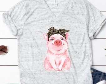b05b91b9f Cute Pig Shirt