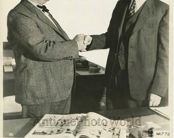 Sears founder A Roebuck w Gen Westervelt antique photo