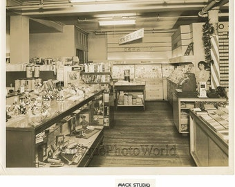 Pottsville PA book greeting cards store antique photo