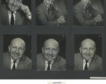 Writer novelist Jerome Weidman vintage photo sequence by Philippe Halsman