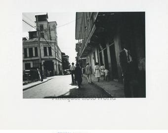 Cuba street view vintage art photo Alejandro Olivera