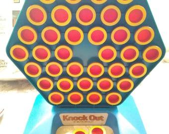 Vtg KNOCKOUT Board Game, 1978, Milton Bradley, Strategy Game, Family Game Night