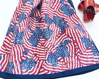 Girls 4th Of July Dresses, Girl's 4th Of July Pillow Case Dresses, Fourth Of July Dresses, July 4th Dresses, 4th Of July Outfit