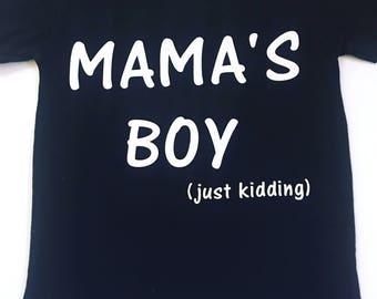 Mama's Boy Shirt, Boy Mom Shirts, Mom Of Boys Tee Shirts, Boy Mama Shirt, Boy Mommy Tee Shirts, Mommy Of Boys Tee Shirts, Mom Of Boys Tops