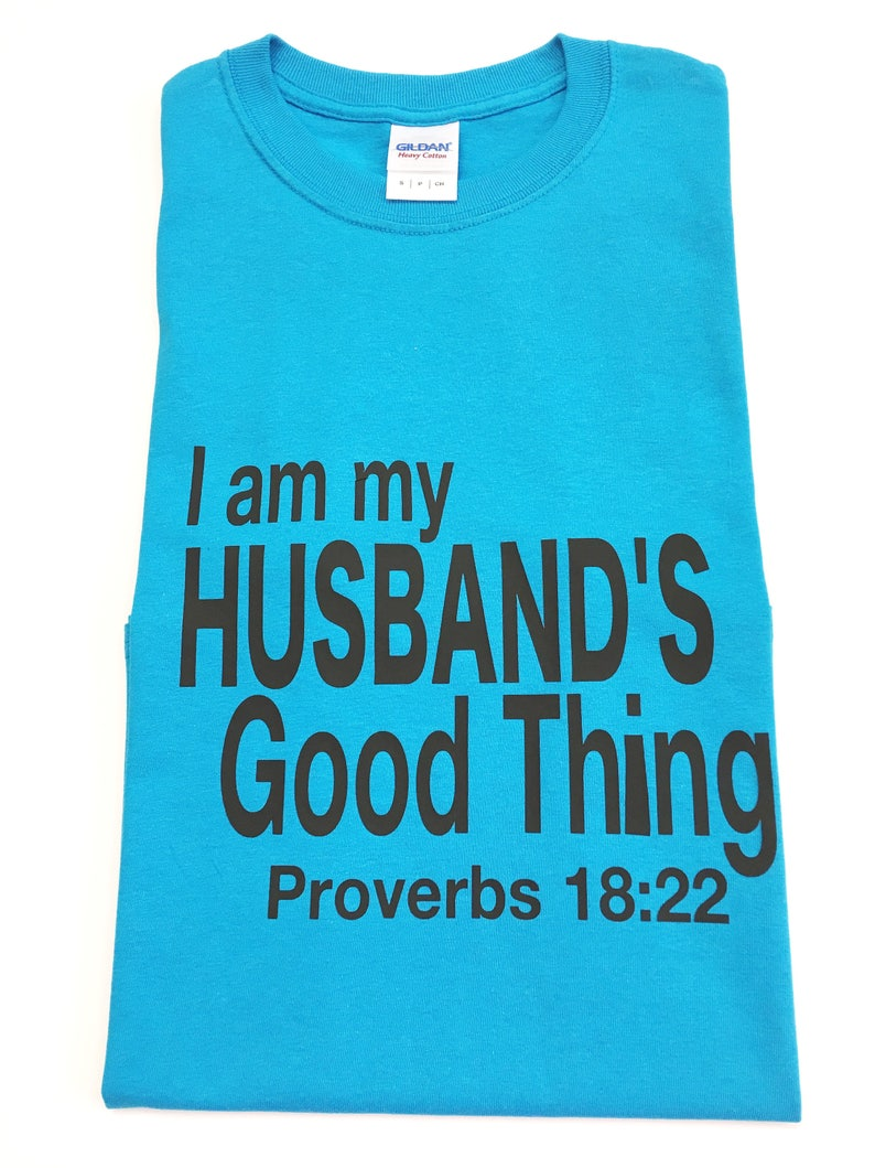 I Am My Husband's Good Thing Shirts Tee Shirts For Wives image 0