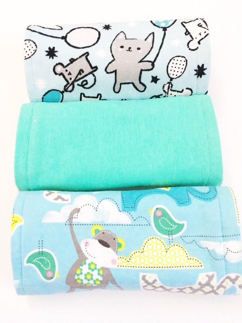 3dc594d1ab Unisex Burp Cloths Animal Print Burp Cloths Baby Burp