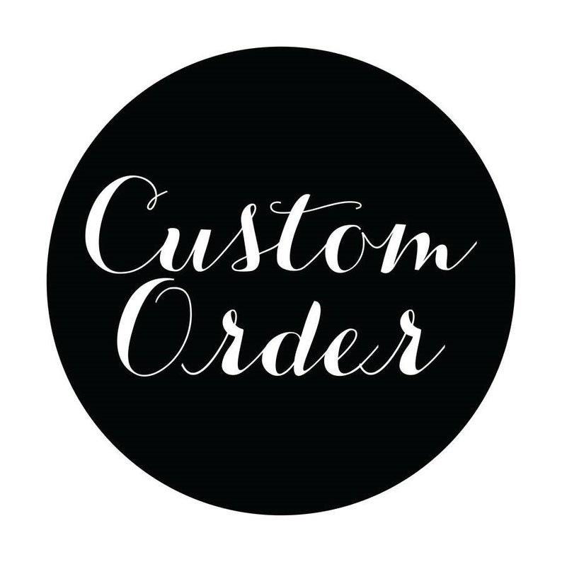Custom Order For Shi Ronda Jackson