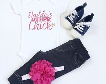 Daddy's Other Chick Shirt, Daddy's Other Chick, Chick Shirts, Daddy's Chick, Easter Shirt, Daddy's Chick Tshirt, Chick T-Shirt, Dad's Chick