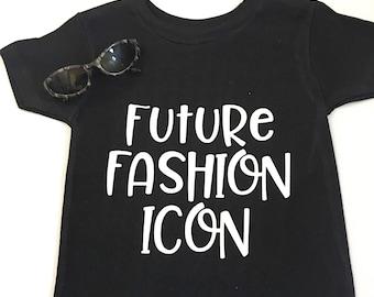 Future Fashion Icon Tee Shirts, Future Fashion Icon Shirts, Unisex Future Fashion Icon Shirts, Adult's  Future Fashion Icon Shirts