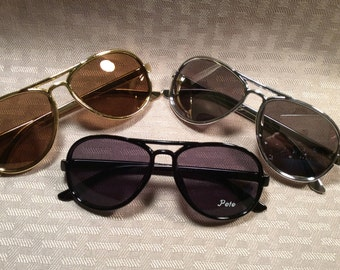 ea5fae999a TINY PERSONALIZED SUNGLASSES Engraved with a Name. Age 6 mo. to 4. Ring  bearer