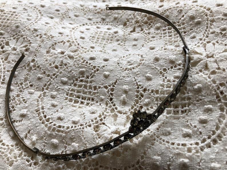Beautiful Art Deco Vintage Paste Wedding Tiara