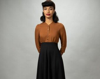40s dress Theresa with circle skirt