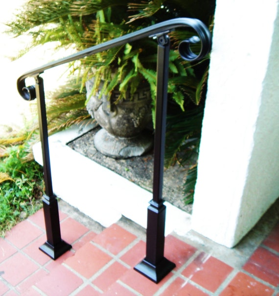 3ft Wrought Iron Handrail Step Rail Stair Rail With