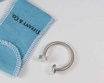 Vintage Tiffany & Co. Screw Nut Bolt Key Ring- RARE and Excellent Conditon!