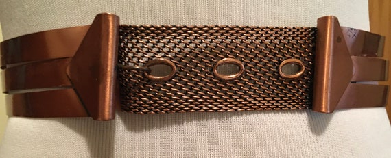 Beautiful Vintage 1950's Renior Copper Belt