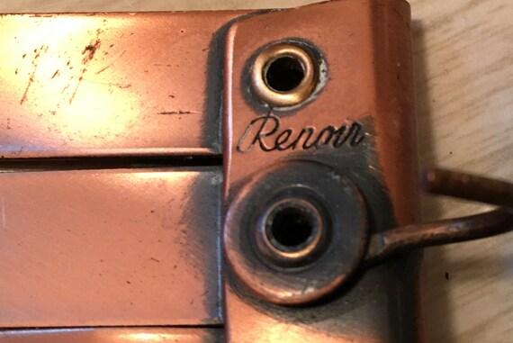 Beautiful Vintage 1950's Renior Copper Belt - image 3