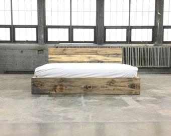 Platform Bed Etsy