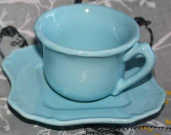 Demitasse/Espresso Cups & Saucers -Laugarte China made in Portugal (2)