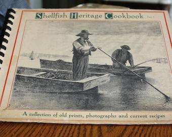 Shellfish Heritage Cookbook part 1 by Robert H. Robinson-1980's