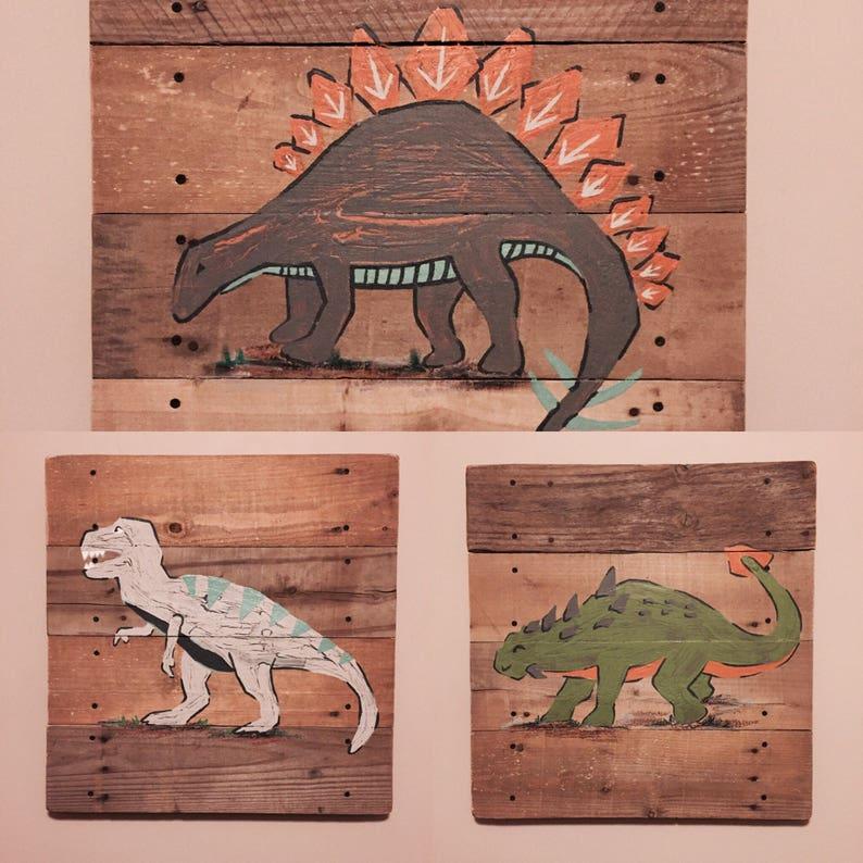 3 Piece Dinosaur Collection Lg Warren Dino Quilt Pottery Etsy