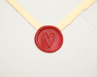 Heart Wax Seal   Valentine's Day Wax Seal Stamp   Love Gift