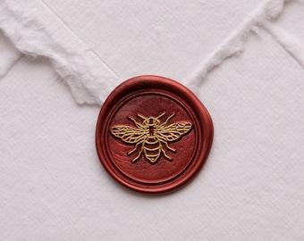 Bee Wax Seal | Wax Seal Stamp | Cicada