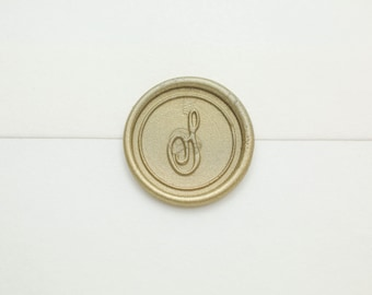 S Initial Wax Seal Stamp | Letter Wax Seal