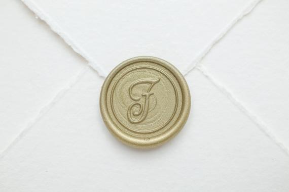 Party Initial V Brief Siegelwachs Stempel Münze Stempel für Umschlag