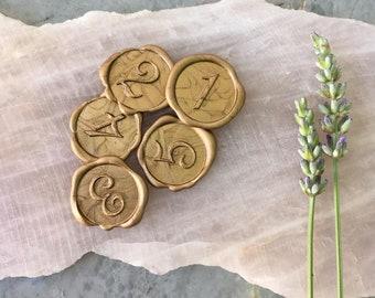 Number Seals | Self Adhesive seals