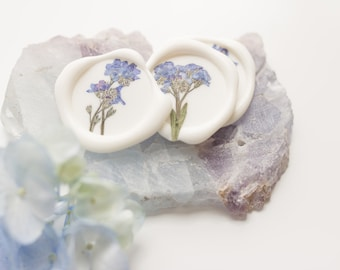 Forget Me Not Wax Seal