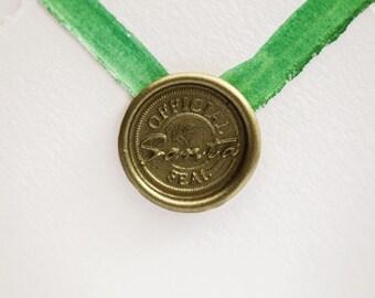 Santa Wax Seal | Christmas Letter Wax Seal Stamp