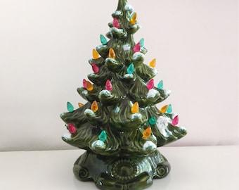 Ceramic Christmas Tree Etsy