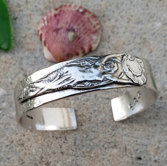 Mermaid Dreams Sterling Silver Cuff