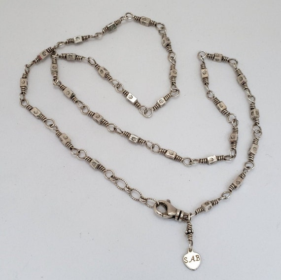Sterling Silver Neck Chain 20""