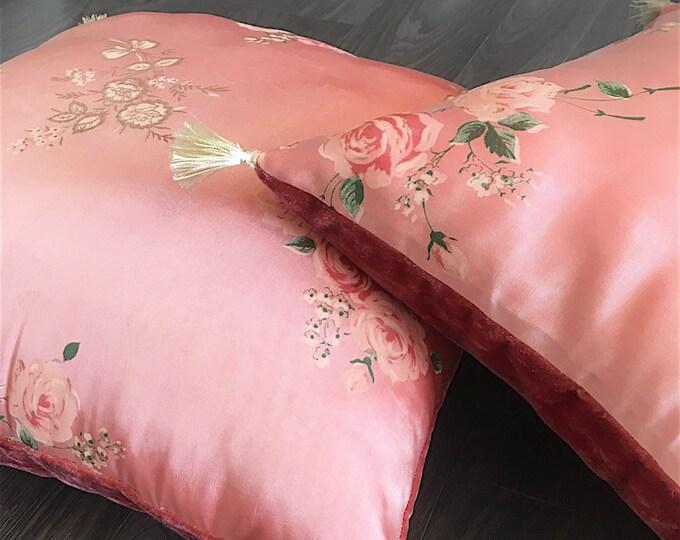 Boho-romantic 1930s-40s flowers fabric